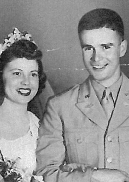 1944 Graduation and a Marriage