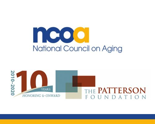 Age-Friendly Sarasota, Aging Mastery Program, Aging with Dignity and Independence, National Council on Aging, Self-Management Alliance         NCOA: Partner, Pioneer, and Champion