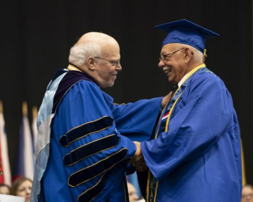 Age-Friendly Sarasota, Aspirations Journalism         Venice Man Graduates 56 Years After Starting Journey in Higher Education