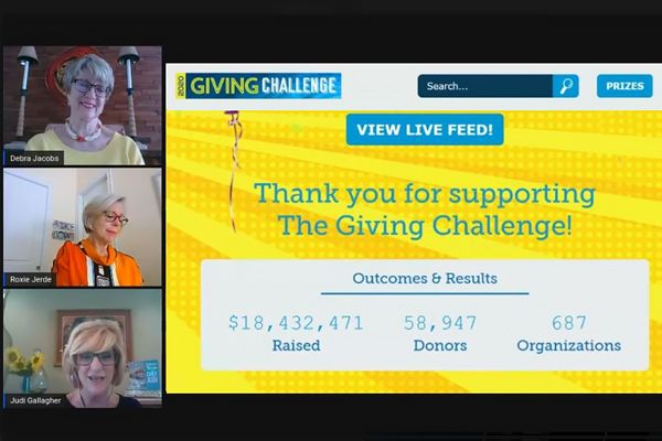 Photo: Giving Challenge results
