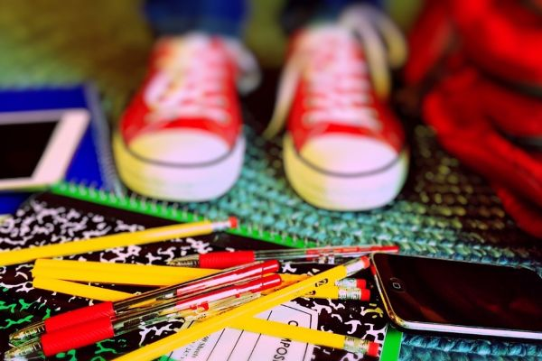 shoes-school-supplies-children-pencils