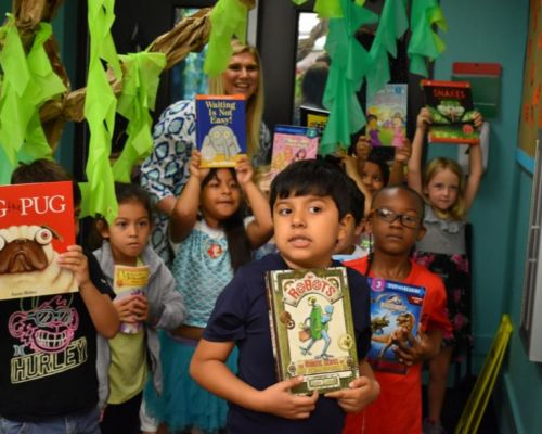 Aspirations to Actions, Suncoast Campaign for Grade-Level Reading         Kids Get Free Books at Fruitville Elementary's Summer Learning Academy