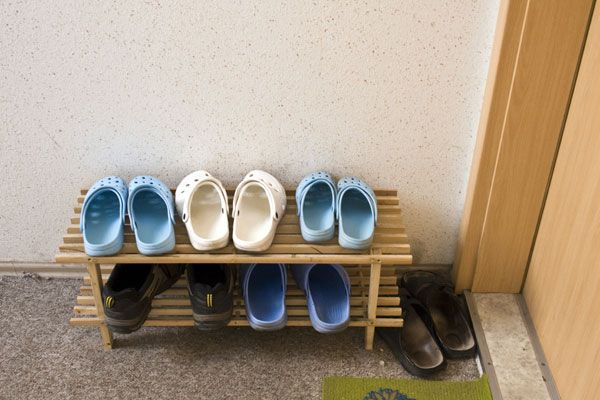 Photo: Shoes by the front door