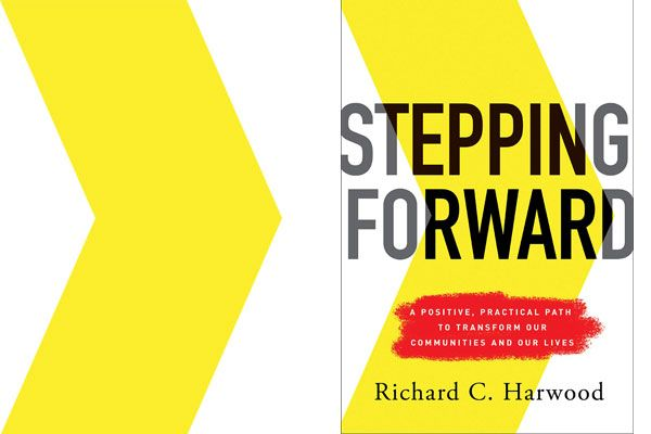 Photo: Stepping Forward book cover