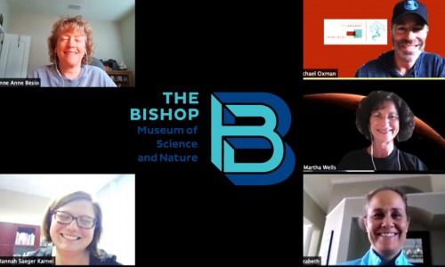 Photo: AMT call with TPFers and leaders The Bishop Museum of Science and Nature