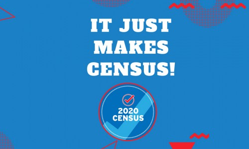 Photo: It just makes census!