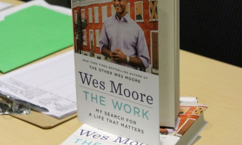 Veteran Wes Moore's book shared with the community