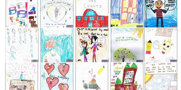2018-19 Attendance Awareness Poster Contest winners from Charlotte County