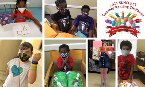 Photo: Children from SCGLR's 2020 Summer Reading Challenge