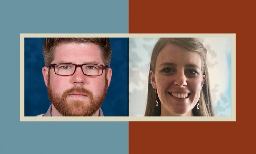 Photo: New TPF Fellows — John Ferguson and Abby Rolland 20/21