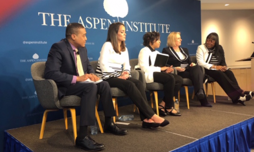 2019 Aspen Forum on Children and Families parent panel discussion