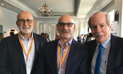 left to right — Bob Carter, Strategy Advisor for Age-Friendly Sarasota, Jim Firman, president and CEO of the National Council on Aging, and Bob Blancato, president of Matz, Blancato & Associates