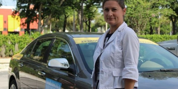 Photo: Brandy Pouso, a physical therapist and certified driver rehabilition specialist at SMH