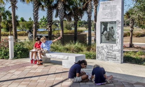 "Patriot Plaza and EdExploreSRQ — Two Initiatives of The Patterson Foundation — ""Cross-pollinate"" to Inspire Students and Their Teachers with Experiential Learning"