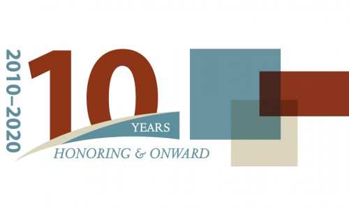Photo: Honoring and Onward partial logo
