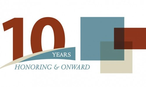 Photo: Honoring & Onward logo