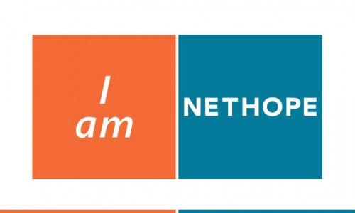 Photo: Text that says, I am NetHope