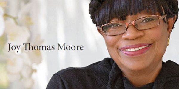 "Photo: Author of ""The Power of Presence,"" Joy Thomas Moore"