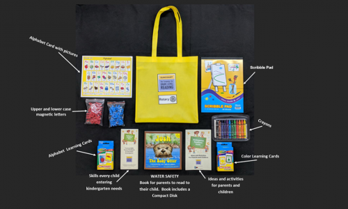 What's in a Kindergarten Readiness Bag