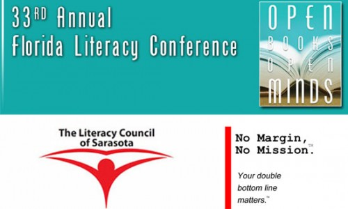 the 33rd Annual Florida Literacy Coalition conference with Literacy Council of Sarasota and Margin & Mission Ignition