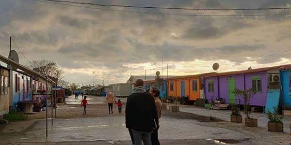Photo: The International Organization for Migration has provided funding to continue the vital connectivity NetHope has set up for Syrian refugees living in settlements in Greece.