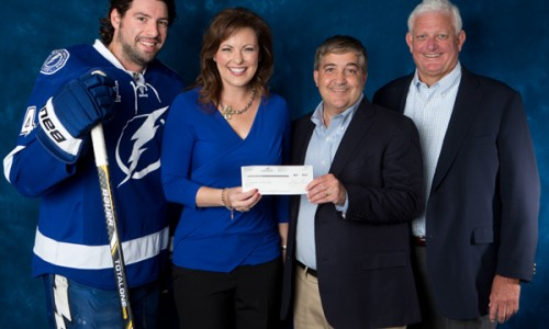 Nicole Johnson honored as Tampa Bay Lightning Community Hero