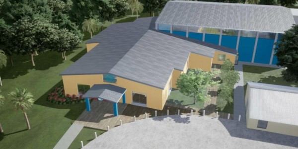 Photo: Rendering of the new Louis and Gloria Flanzer Boys & Girls Club in Arcadia, FL