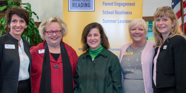 Visit from early learning expert kicks off school readiness network