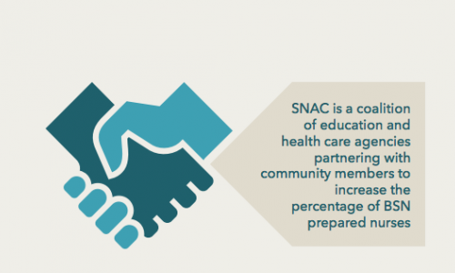 SNAC employer team engages healthcare, education institutions
