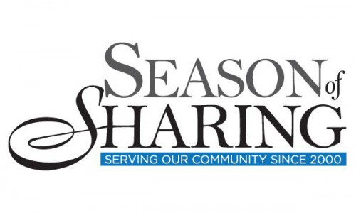 A 100,000 Dollar Gift to Season of Sharing