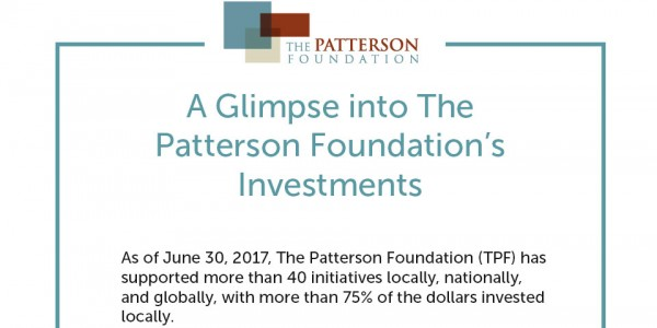 A glimpse into The Patterson Foundation's investments