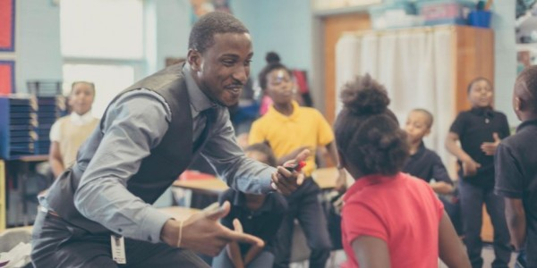 Michael Bonner makes class a fun learning environment