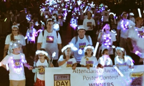 More than 400 people walk with SCGLR in the SRQ Holiday Parade