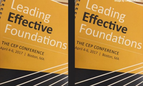 TPF's Connecting, Learning, Sharing, Evolving, and Strengthening resonated at Leading Effective Foundations Conference