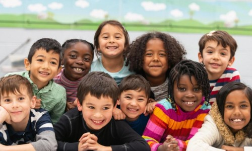 Photo: Children of different races