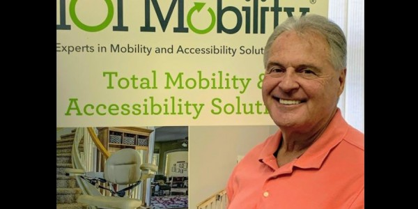 Photo: Chuck Vollmer, owner of 101 Mobility