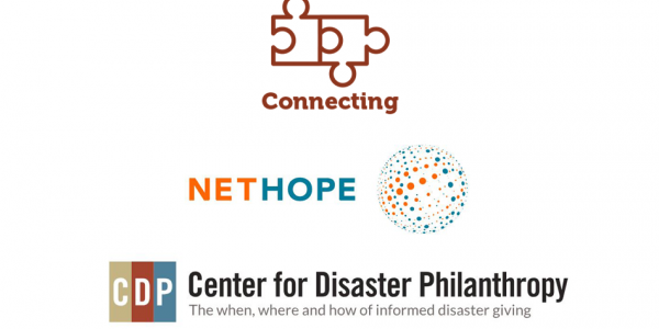 The Patterson Foundation connects NetHope and Center for Disaster Philanthropy