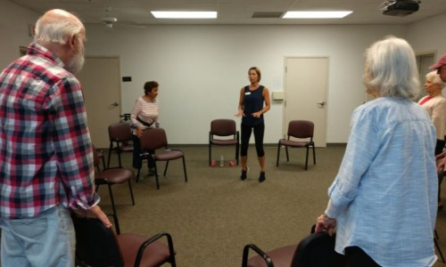 Photo: Balance movement class at Friendship Centers