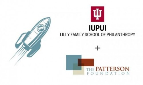 Photo: Fellows icon with  Indiana University Lilly Family School of Philanthropy and TPF logos