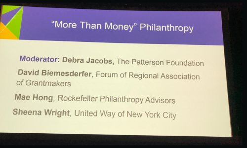 More Than Money Philanthropy