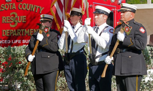 A community gathers to remember 9/11