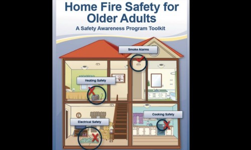 Photo: an illustration for fire prevention