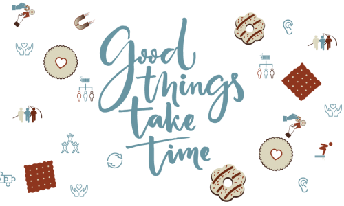 Photo: Good things take time
