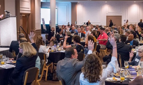 Community engagement at the 2017 SCGLR Community Update Breakfast