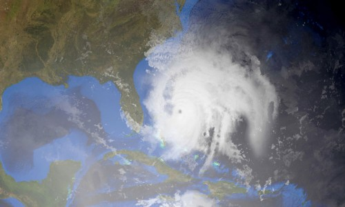 Photo: Hurricane Dorian from space