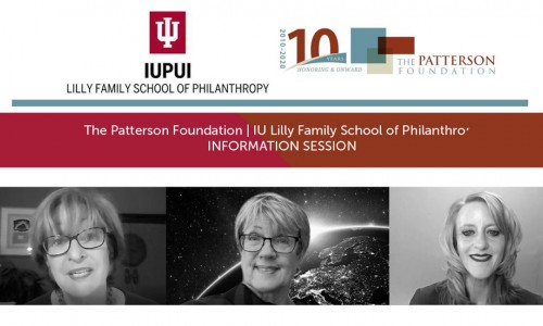 Photo: TPF/IU Lilly Information Session video image