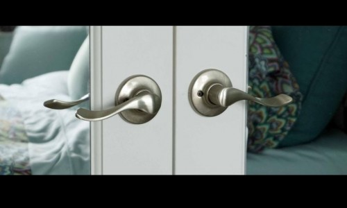 Photo: Lever door handles are easier to open, even for people with disabilities