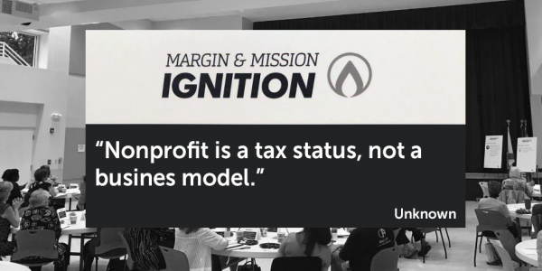Photo: Nonprofit is a tax status, not a business model
