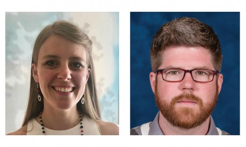 Photo: New TPF Fellows, Abby Rolland and John Ferguson