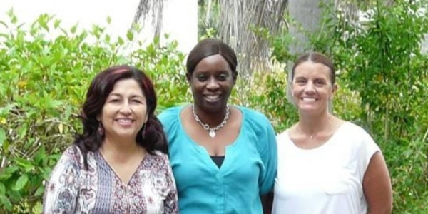 Photo:  Three new employees hired by Parenting Matters to expand services in Sarasota County